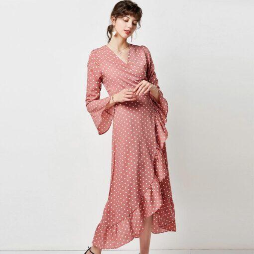 Robe à Pois##Robe à Pois décontractée tunique - coccinelle-paradis