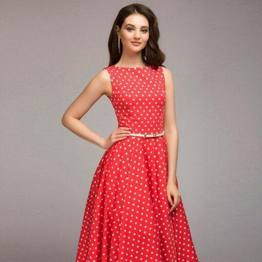 Robe à Pois##Robe à Pois vintage vestidos - coccinelle-paradis