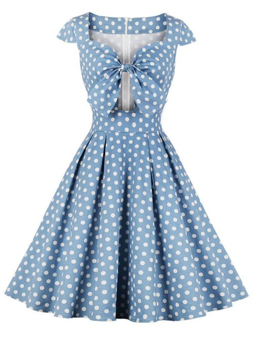 Robe à Pois##Robe à Pois Glamour Swing Rockabilly - coccinelle-paradis