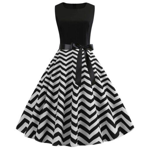 robe style rétro chic