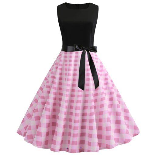 robe rétro rockabilly