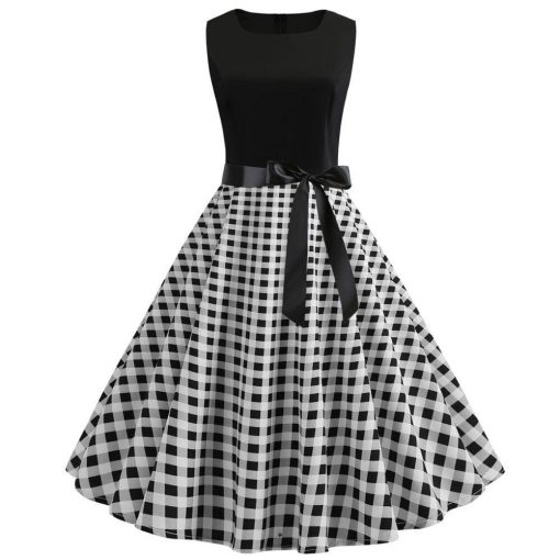 robe rétro années 50 audrey hepburn