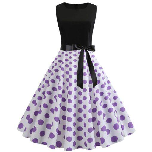 robe longue rétro