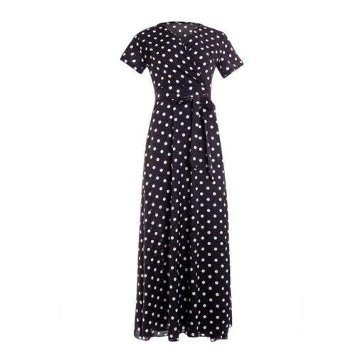 Robe à Pois##Robe à Pois Femmes Imprimé Bohémienne - coccinelle-paradis