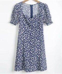 Robe à Pois Courte##Robe à Pois Courte d'été Manches Princesse - coccinelle-paradis