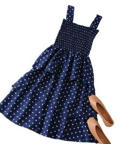 robe plissee a pois