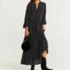 Robe à Pois##Robe à Pois<br> Longueur Casual Volants - coccinelle-paradis