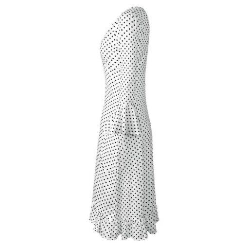 robe cloche longue