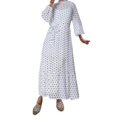 robe mi longue grande taille