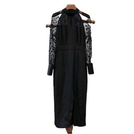 robe noir moulante