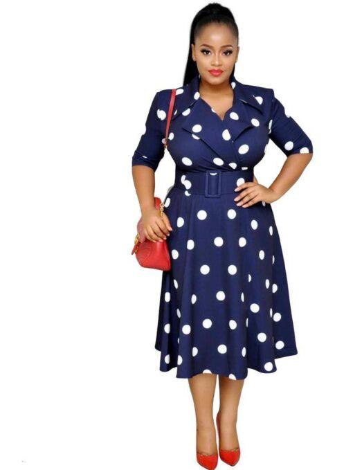 robe blazer grande taille