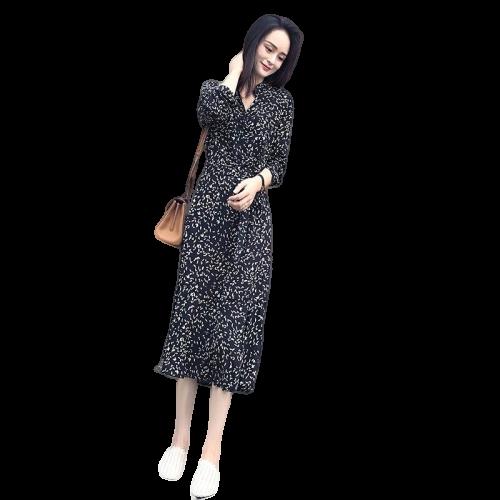robe vintage petit pois
