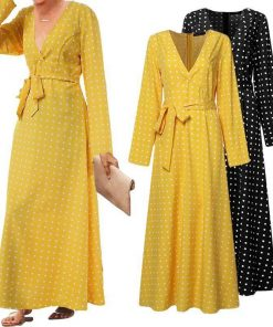 robe longue de soiree en dentelle