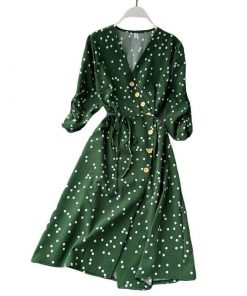 robe portefeuille vintage