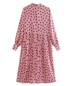 chemise longue femme rose