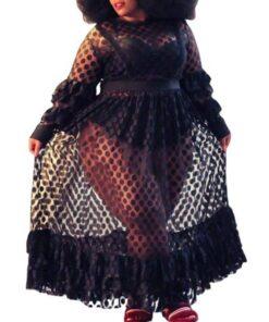 robe blazer noir grande taille