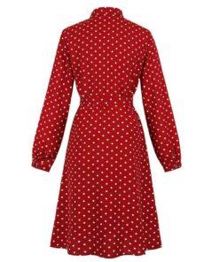 robe rouge grande taille ceremonie
