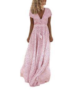 robe longue boheme hippie