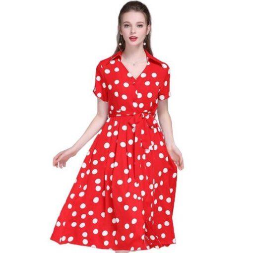 robe longue boheme rouge