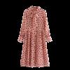 robe rose a pois blanc annee 50