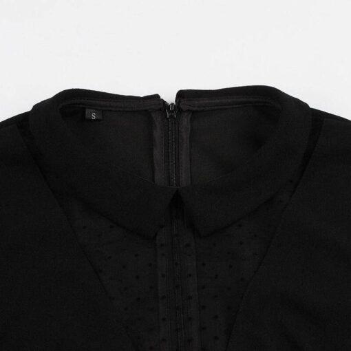 dentelle robe noire