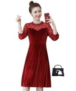 robe en dentelle femme
