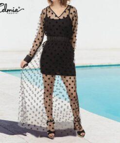 jupe taille haute longue