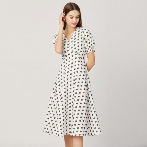 robe a pois kate middleton