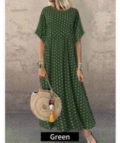 robe style nuisette longue