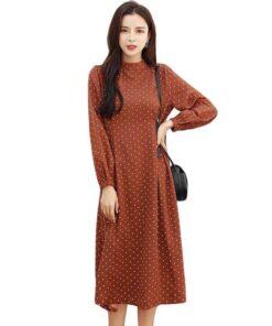 robe a pois femme vintage