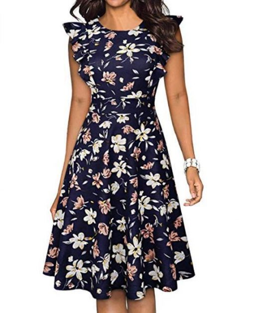 robe florale