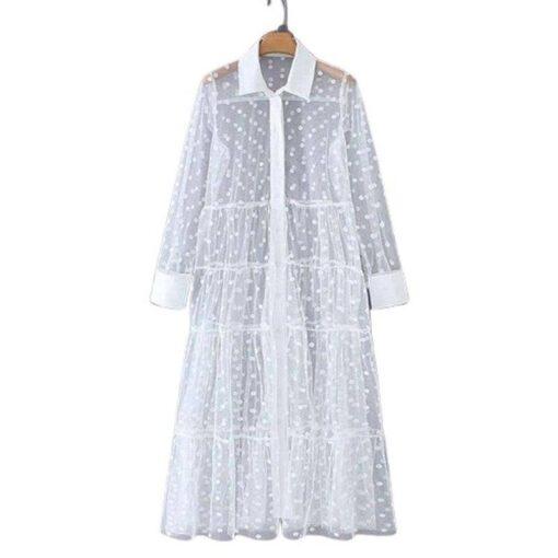 chemise longue femme robe