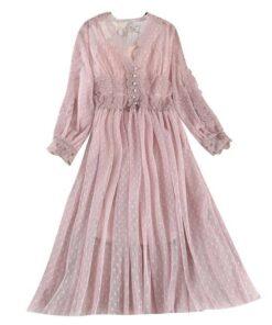 robe en dentelle en anglais