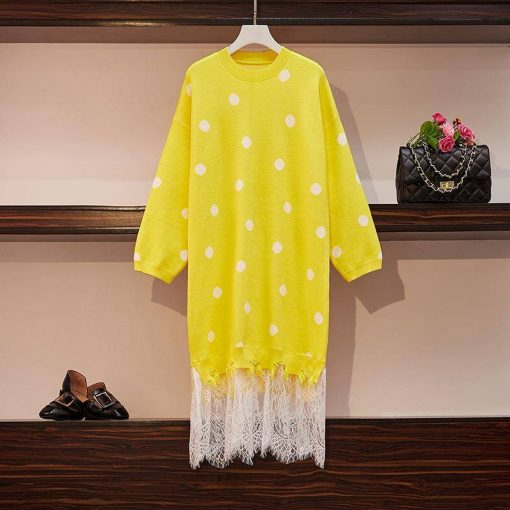 robe dentelle longue