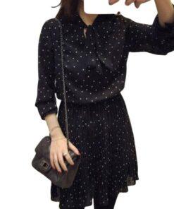 robe de soiree noire grande taille