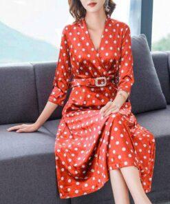 robe automne hiver grande taille