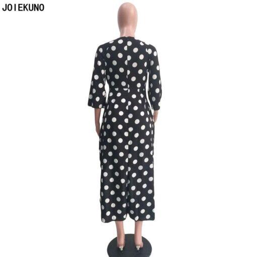 Robe à Pois##Robe à Pois élégante Mode - coccinelle-paradis