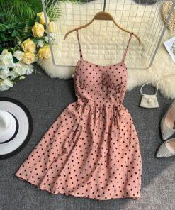 année 80 robe a pois