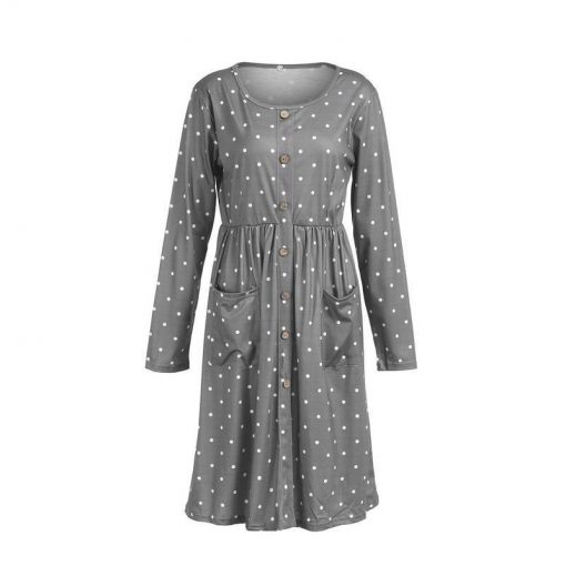 robe longue poche