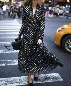 robe longue style kimono