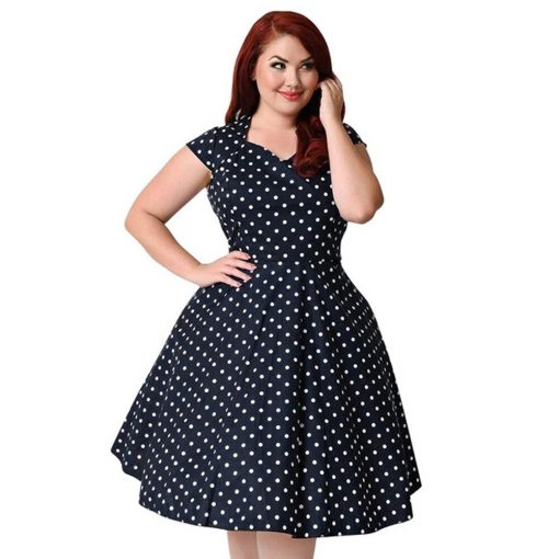 jolie robe a pois taille 46