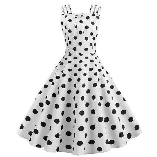 robe a pois grande taille