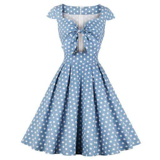 Robe à Pois##Robe à Pois Glamour Swing Rockabilly - coccinelle-paradis