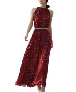 robe longue bustier boheme