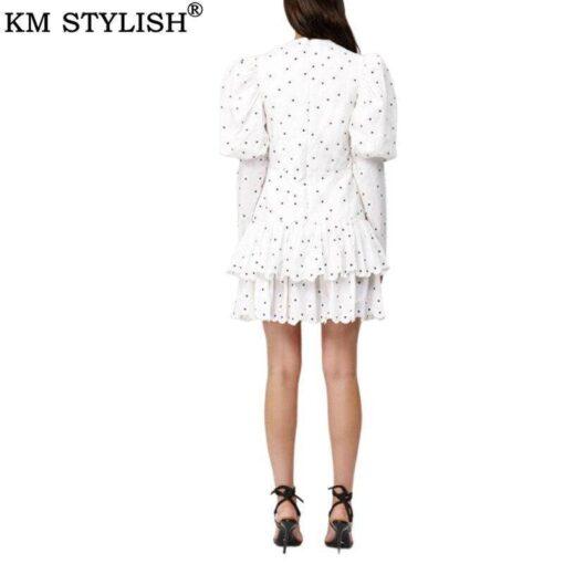 robe blanche courte marque