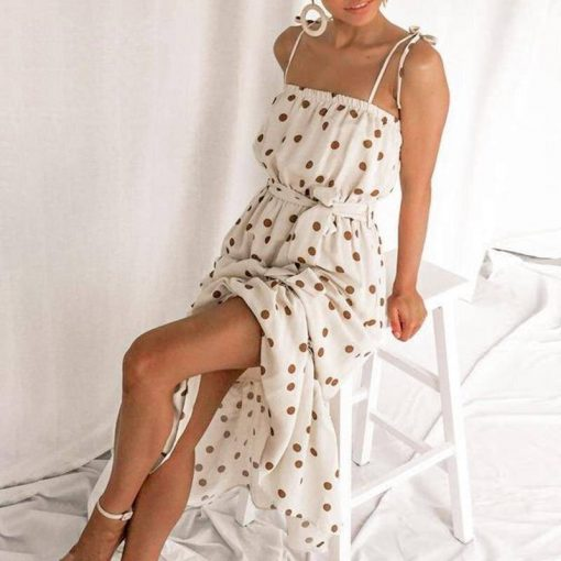 robe blanche longue vintage