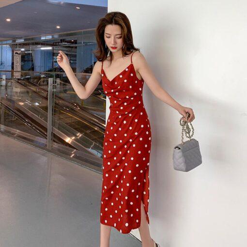 Robe à Pois#robe à pois année 60#Robe à Pois Année 60 - coccinelle-paradis