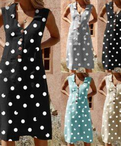 Robe à Pois##Robe à Pois nouveau femmes ménagère - coccinelle-paradis