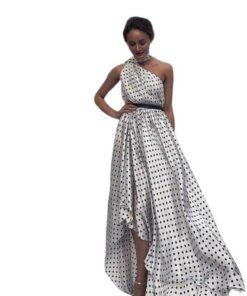 robe soiree asymetrique