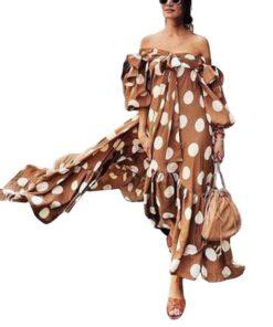 robe longue bretelle boheme